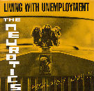 Image of the front cover of the 'Living With Unemployment' single
