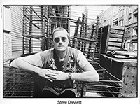 Walkerprint image of Steve Drewet in East Berlin