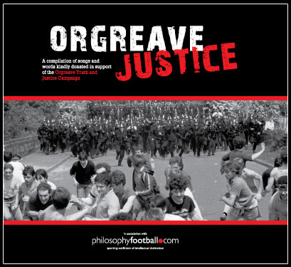 Cover of Orgreave Justace CD
