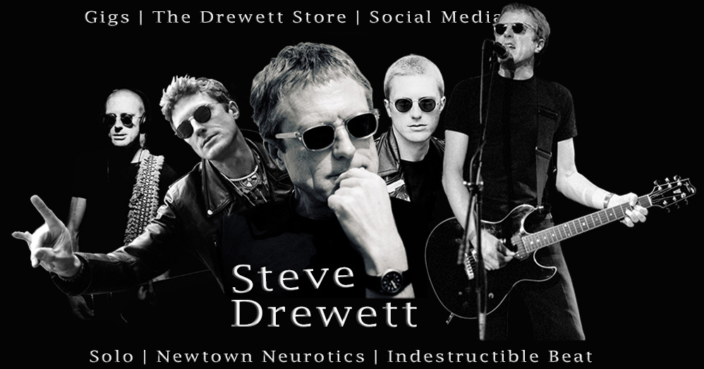 Steve Drewett collage image